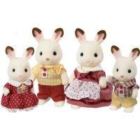 Sylvanian Families Rodinka chocolate králíků