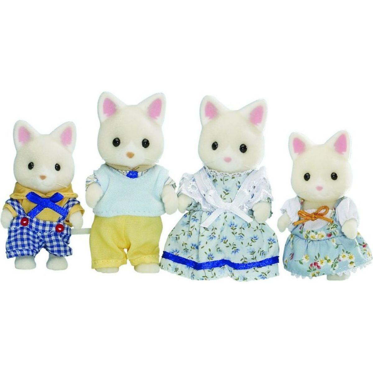 Sylvanian Families Rodinka hedvábných koček