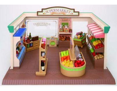 Sylvanian Families Supermarket s příslušenstvím