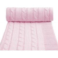 T-tomi Pletená deka 1 ks Růžová
