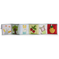 Taf Toys Textilní knížka 3v1 2