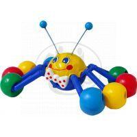 Teddies L5015 - Tahací pavouk plast 33cm v sáčku