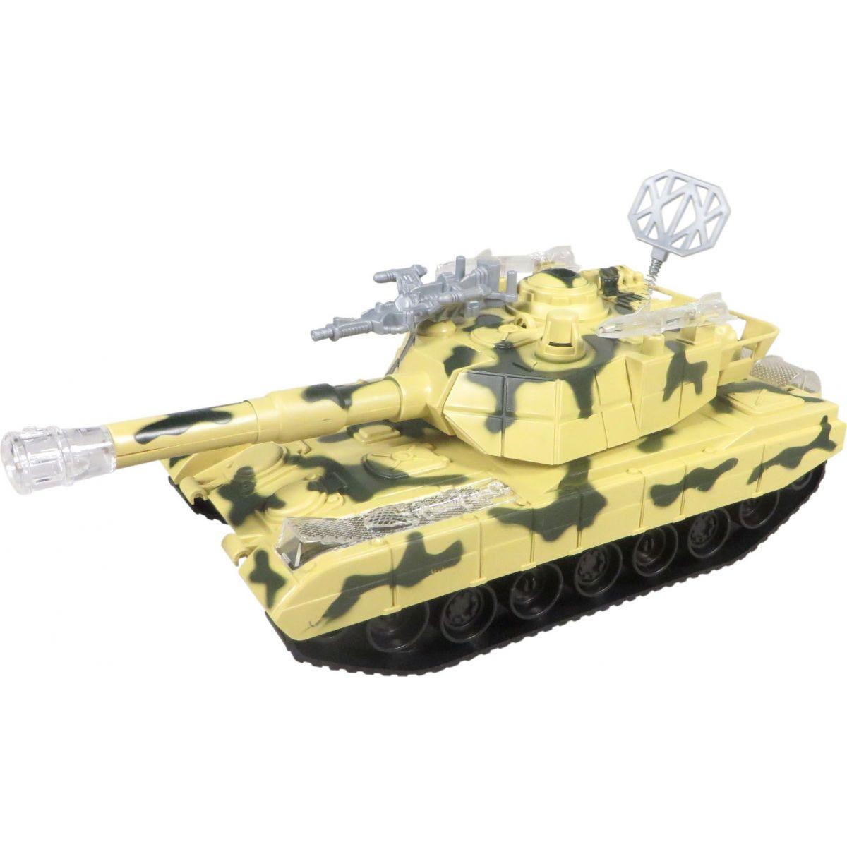 Made Tank se světlem a hudbou na baterie - Béžová
