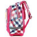 Target Winx Batoh dětský růžovo/kostičkatý super lehký 3