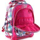 Target Winx Batoh dětský růžovo/kostičkatý super lehký 4