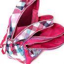 Target Winx Batoh dětský růžovo/kostičkatý super lehký 5