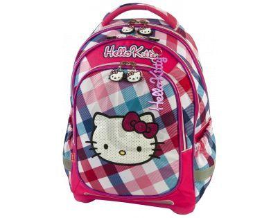 Target Hello Kitty Batoh růžovo/světle modrý