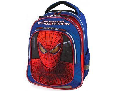 Target Spiderman Batoh modro/červený