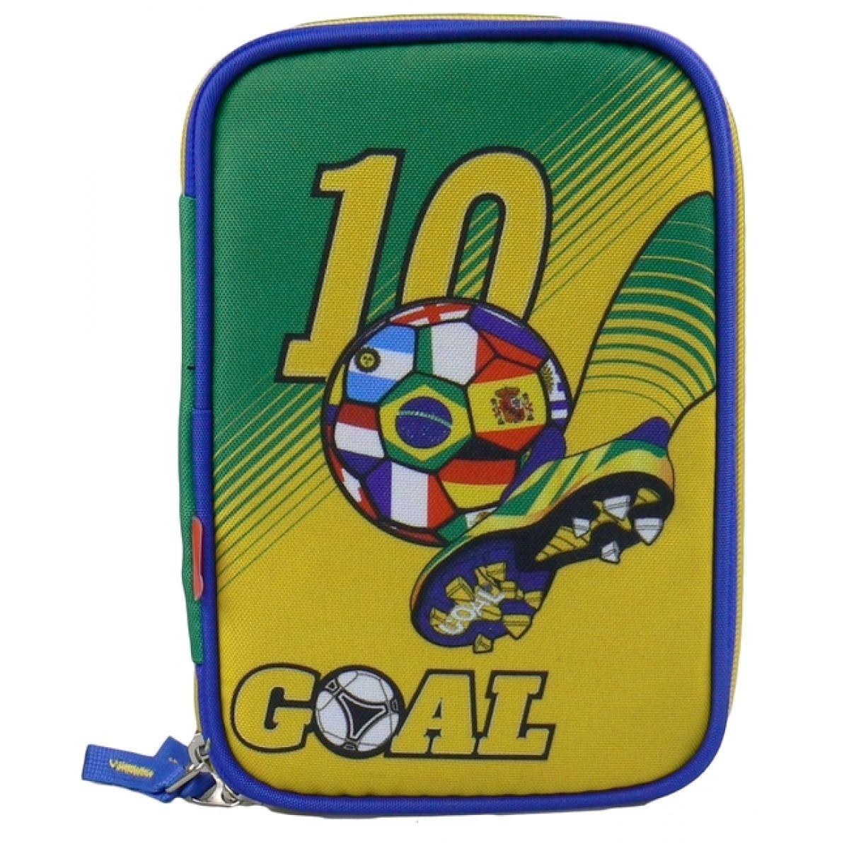 Target Penál Fotbal žluto zelený Plně vybavený
