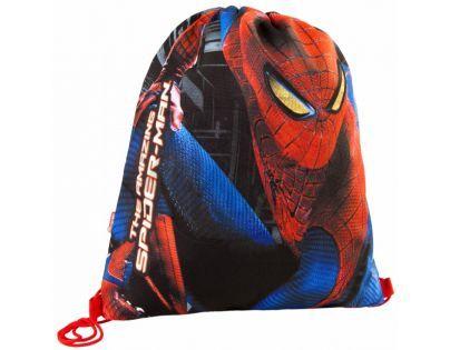 Target Spiderman Taška na přezůvky černo modrý