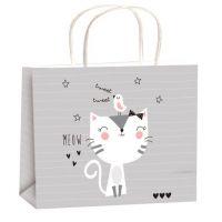 Anděl Taška celoroční dárková pro děti M horizont 23 x 18 x 10 cm kočička