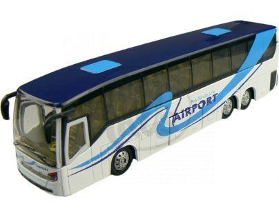 Alltoys Teamsterz městský autobus 1:50 - Bílá