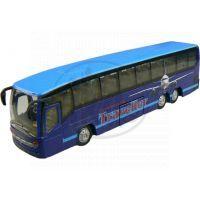 Alltoys Teamsterz městský autobus 1:50 - Modrá