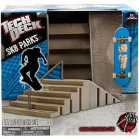 Tech Deck Skate Park S Fingerboardem Modrá