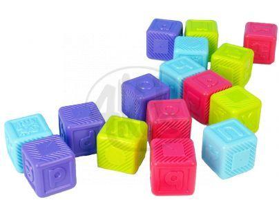 Redbox 23099 - Abecední kostky plast 16ks