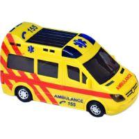 Ambulance 21cm narážecí se světlem a zvukem