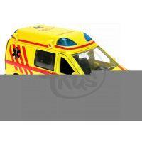 Kids GLOBE CT-1106/CZ - Ambulance kov 14cm se světlem/zvukem