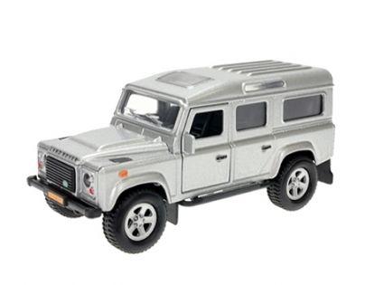Kids Globe Auto Land Rover kov Na zpětné natažení se zvuky a světly
