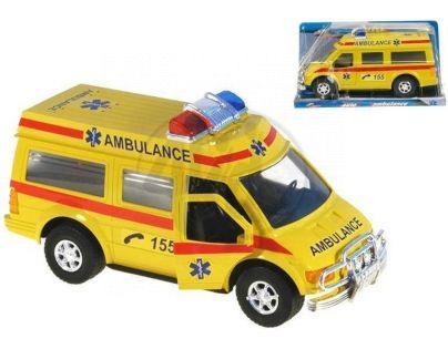 MIKRO 60392 - Auto ambulance 27cm na setrvačník
