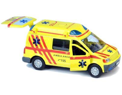 Auto ambulance česky mluvící 13 cm