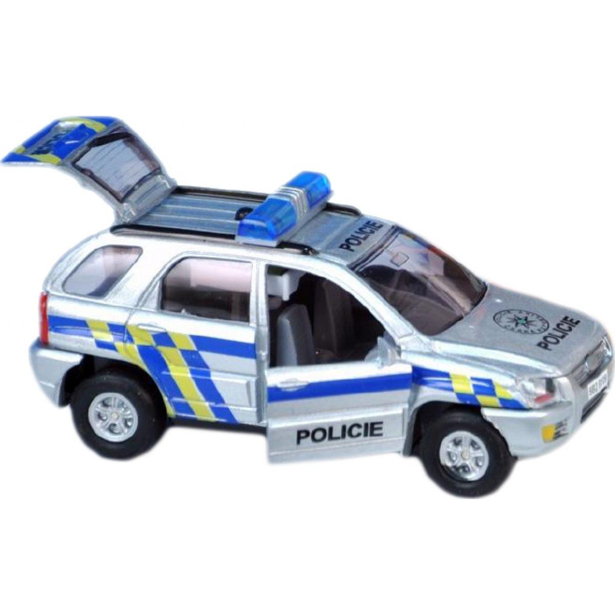 Auto policie česky mluvící 13 cm