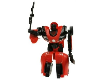 Teddies 00070153 - Transformers- sportovní auto asst, 2 druhy na kartě