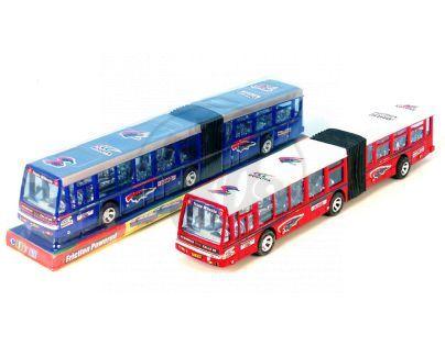 Autobus kloubový na setrvačník 41,5cm