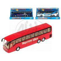 Mikro Autobus kov 18cm se světlem a zvukem