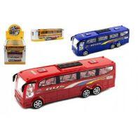 Autobus plastový 25 cm na setrvačník