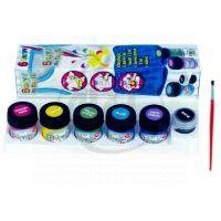 Toy FF003X - Barvy na textil 6ks
