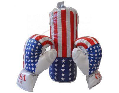 Kimet P4687 - Boxerský pytel 13 x 38cm + rukavice v sáčku