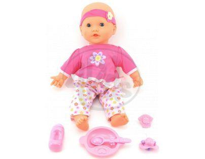 Dýchající panenka s doplňky - Tyrkysové kalhoty