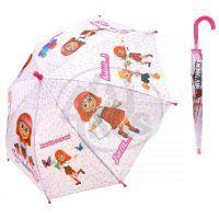 MIKRO 25067 - Deštník Hurvínek - růžový 56cm