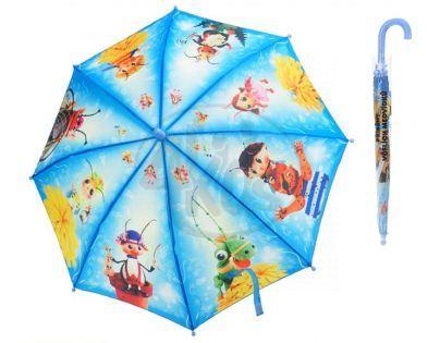 MIKRO 26509 - Deštník Příběhy včelích medvídků - modrý 56cm