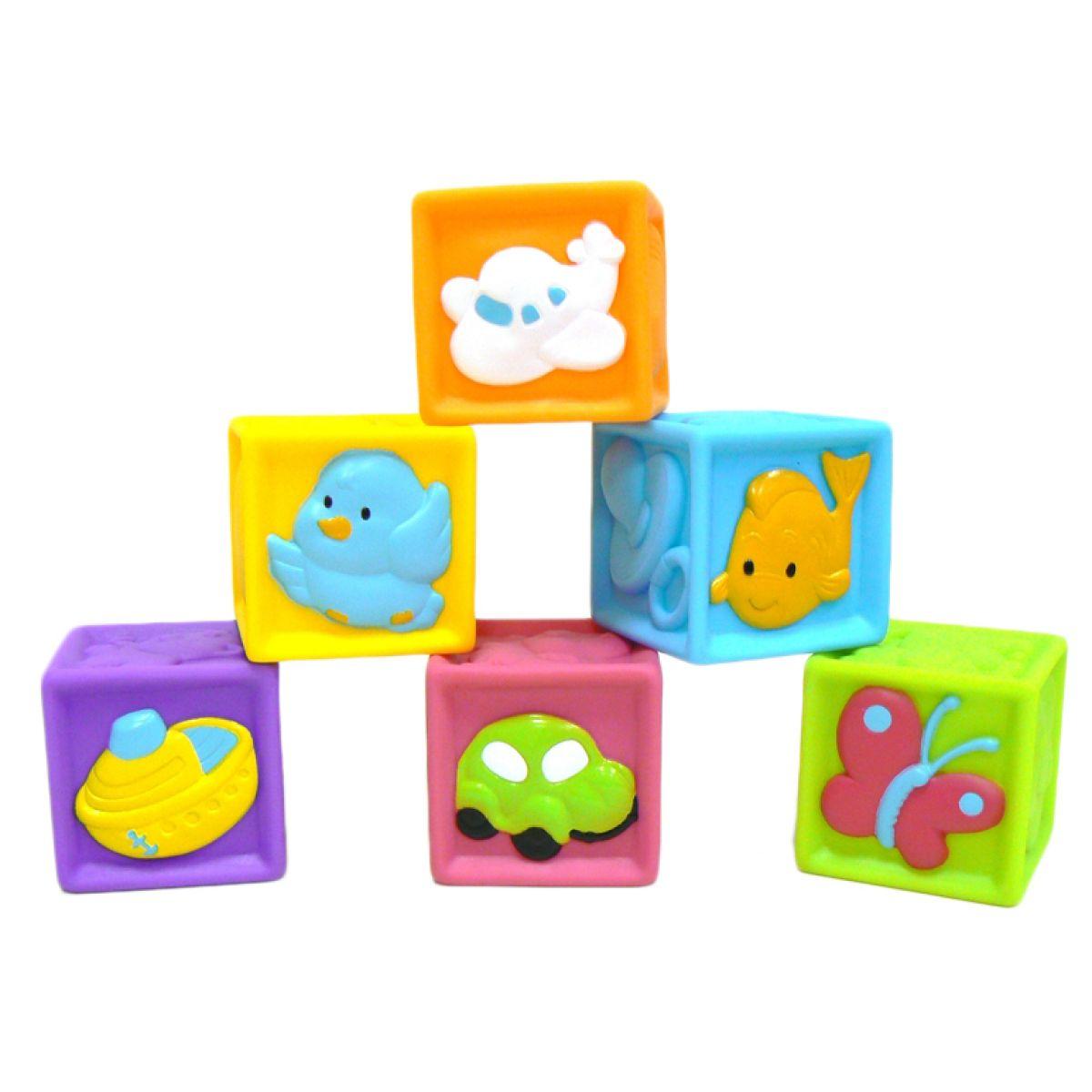 Redbox Dětské pískací kostky 6 ks