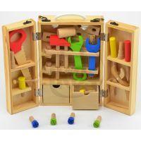 Dřevěné nářadí v kufříku 25 ks