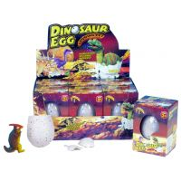 MIKRO 620423 - Dinosaurus JUMBO líhnoucí rostoucí 11x8cm v krabičce 6ks v boxu