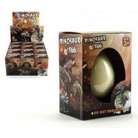 Dinosaurus líhnoucí a rostoucí z vajíčka v krabičce