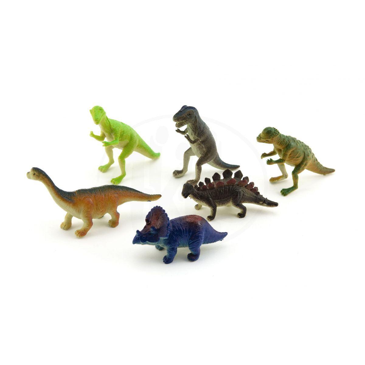 Dinosaurus plastový 6 ks