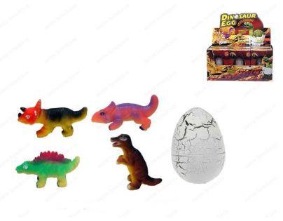 Teddies 00023368_620370 - Dinosaurus líhnoucí se a rostoucí 6x4,5 cm