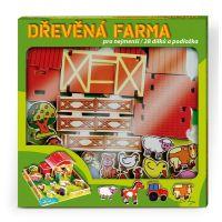 MIKRO 24206 - Domeček dřevěná farma se zvířátky 4