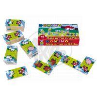 Teddies 512002 - Dřevěné domino - Moje první zvířátka