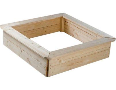 Dřevěné pískoviště 80x80cm
