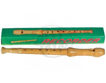 Teddies 5993 - Zobcová flétna - dřevo 32cm