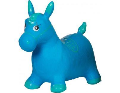 Hopsadlo zvířátko nafukovací gumové Modrá