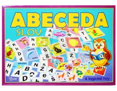 Teddies 170332 - Hra Abeceda slov