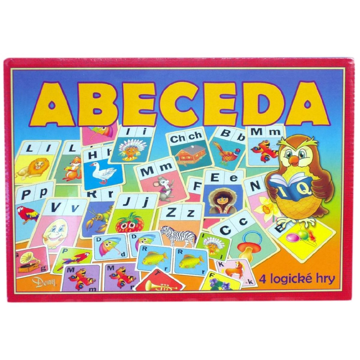 Teddies 170325 - Hra Abeceda