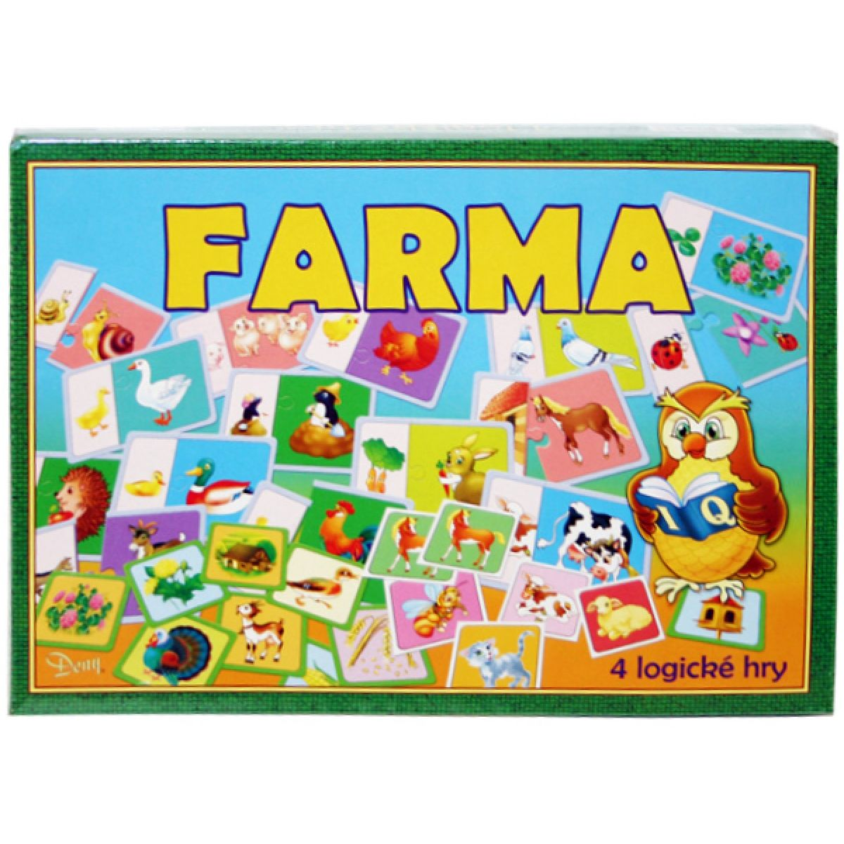 Teddies 170363 - Hra Farma