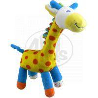 Žirafa barevná Plyš 23 cm