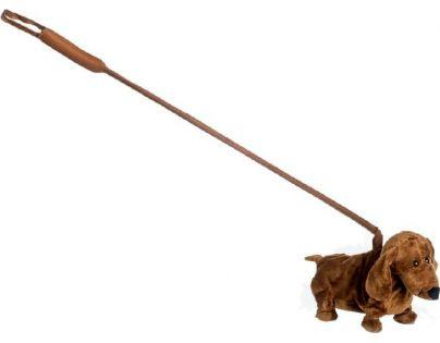 Jezevčík hrající chodící 30 cm